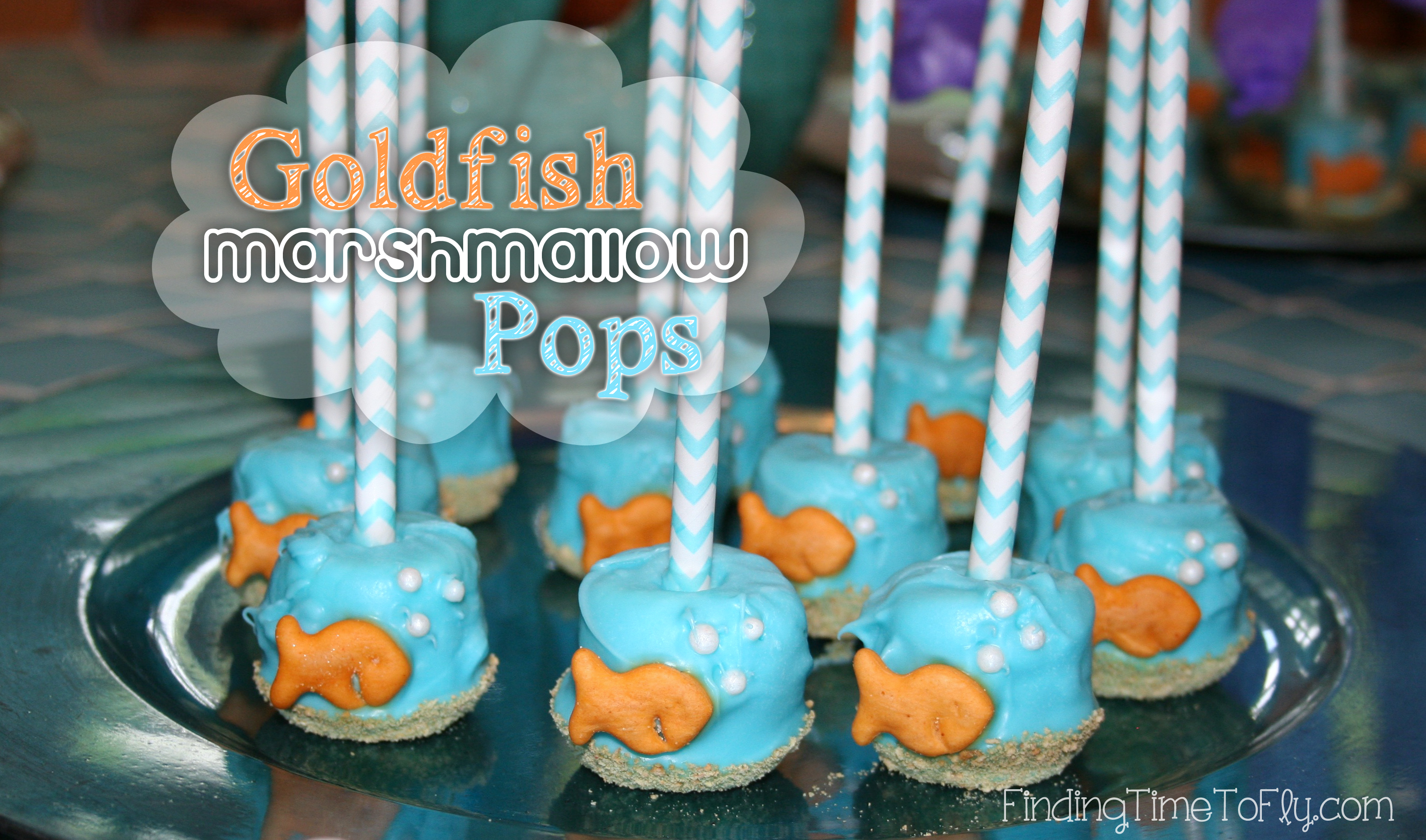 Goldfish Marshmallow Pops_1