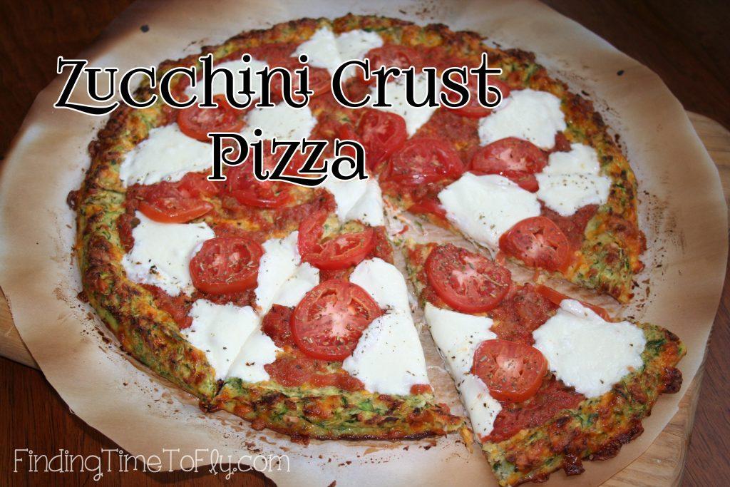 Zucchini Crust Low Carb Pizza-1