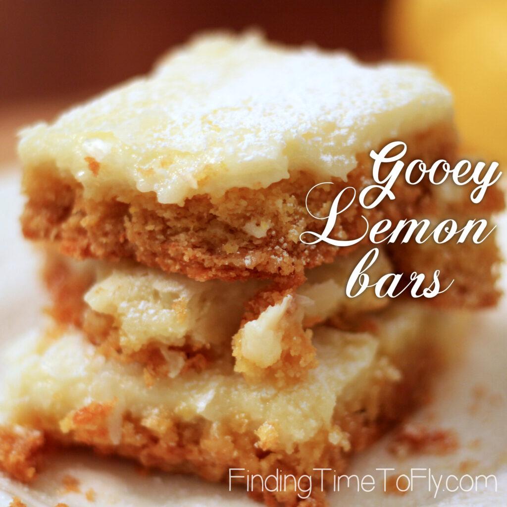 How To Make Lemon Bars Using Cake Mix
