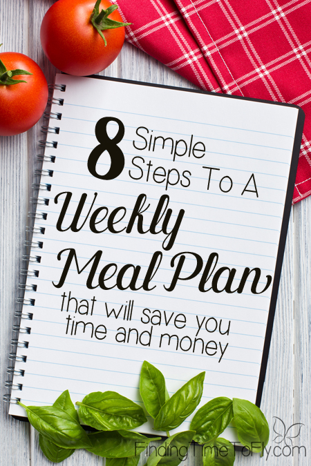 Easy steps to meal planning.