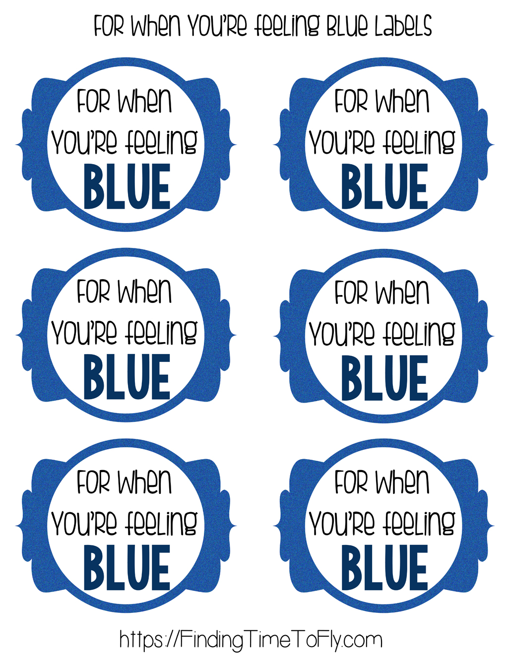 Blue Printable Tags-1