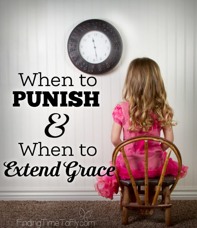 These are great tips on knowing when to punish or not punish a child. Keeping this for reference!