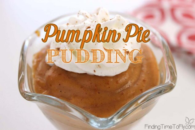 For when you really want some pumpkin pie but have no time to bake. This Pumpkin Pie Pudding can be done in about 20 minutes!
