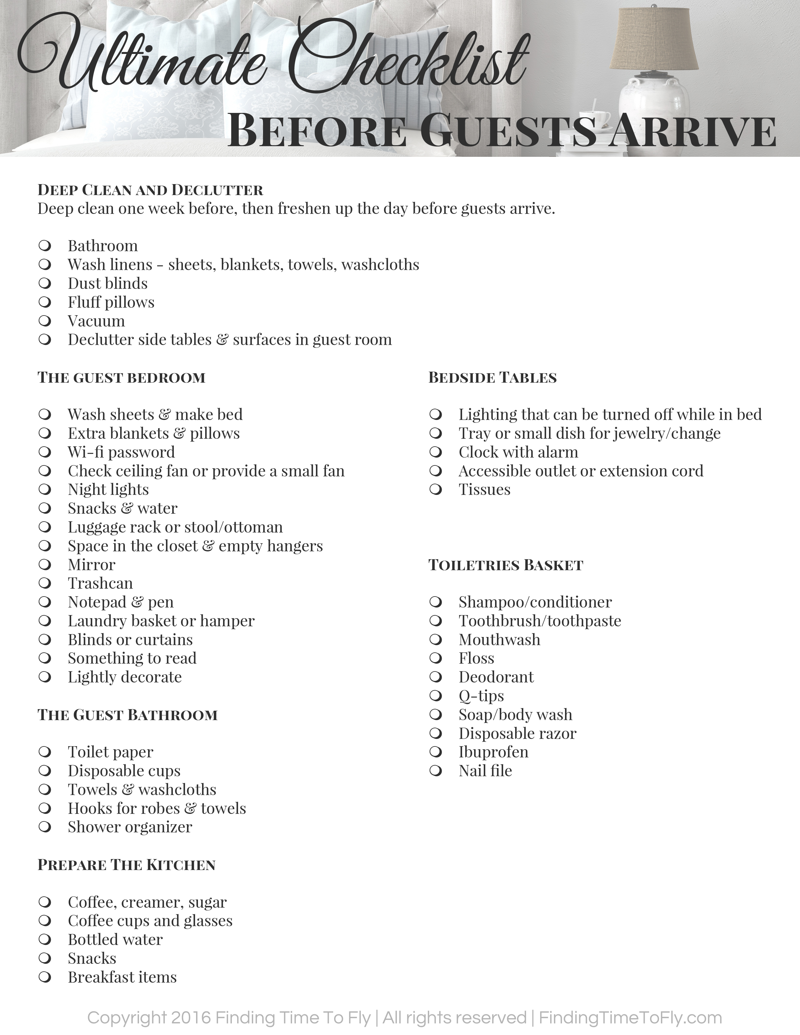ultimate-checklist-before-guests-arrive
