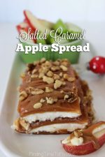 Salted Caramel Apple Spread