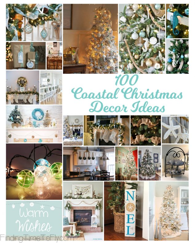 100 Coastal Christmas Decor Ideas