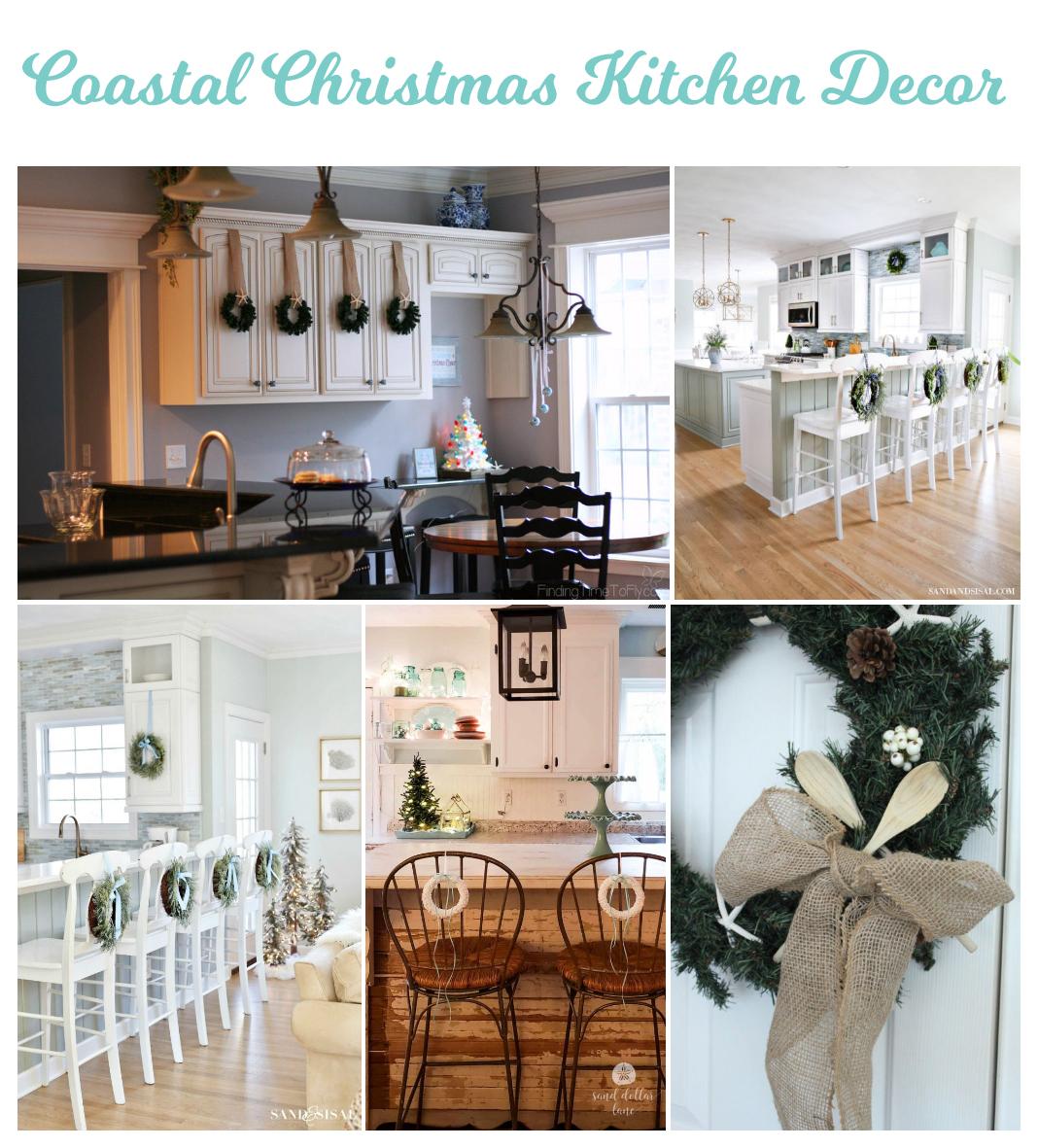 100 Coastal Christmas Decor Ideas for the Kitchen
